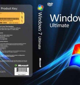 Установка windows 7\8\10\XP, программы