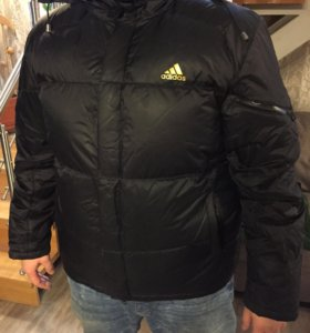 Мужской зимний пуховик Adidas, куртка
