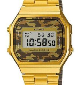 Часы Casio A-168WEGC-5E,новые,оригинал,2 г гар-я