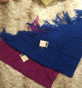 Шерстяная шаль/платок