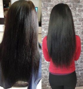 Итальянское (горячее) наращивание волос