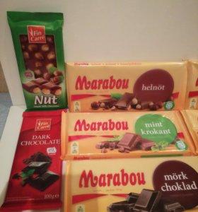 Шоколад marabou