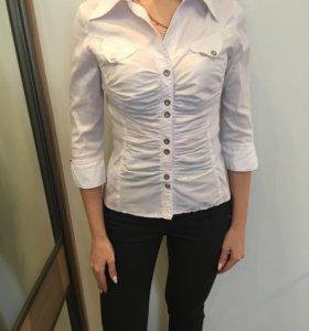 Рубашка белая 42-44 размер