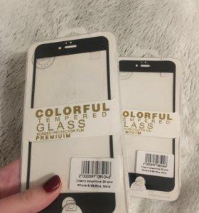 Защитное стекло на iPhone 6Plus/6sPlus