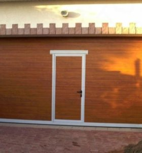 Рольставни, секционные ворота, стальные двери