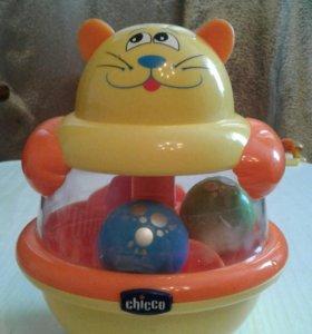 """Chicco игрушка-юла """"Котёнок """""""