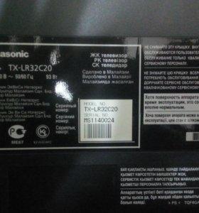 На запчасти Телевизор panasonic TXLR32c20