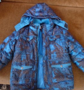 куртка зимняя на мальчика 6-8 лет