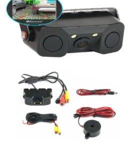 Универсальная камера заднего вида с парктроником