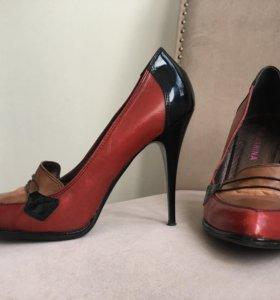 Туфли Италия кожа