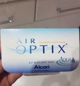 Аlcon контактные линзы Air Optix Aqua -0.25