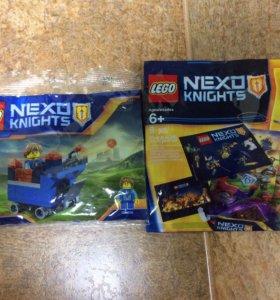 Lego Nexo Knights, два полибэга