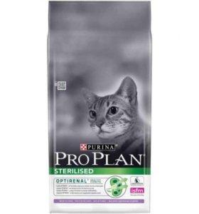 .Про план Корм для стерелизованых кошек 10 кг
