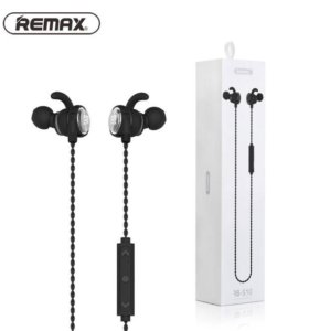 6. Наушники Remax RB-S10 Bluetooth НОВЫЕ