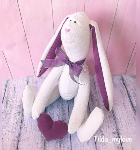 Заяц Тильда 30 см