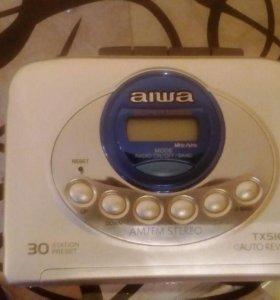 Кассетный плеер AIWA TX516