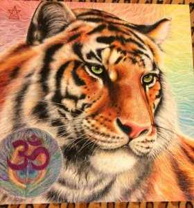 Картина - талисман, оберег. Тигр