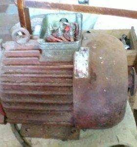 Электродвигатель 3квт,1400 об/мин,380в
