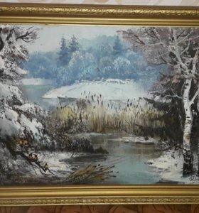 Картина заслуженного художника России