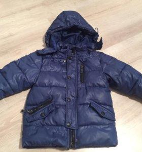 Зимний полукомбез + куртка
