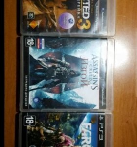 Assassin creed изгой, Far Cry 4,Uncharted 3