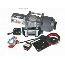 Лебедка для ATV Electric Winch 3500lbs 12v