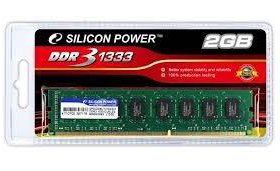 Silicon Power DDR3 DIMM <PC3-10600> CL9 1333МГц