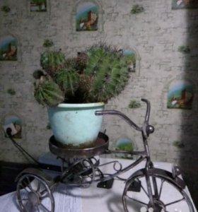 Подставка под цветы, ручная работа