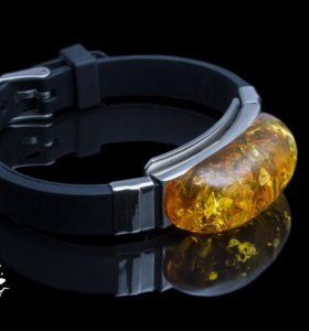 Эксклюзивные браслеты с янтарём