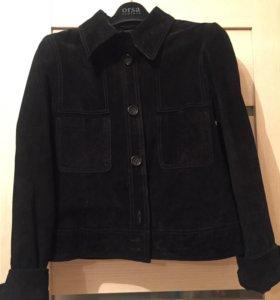 Куртка пиджак из натуральной замши
