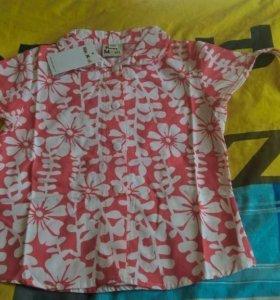 Рубашка рост 98