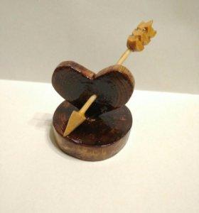 """Подарок любимым """" Пробитое сердце"""""""