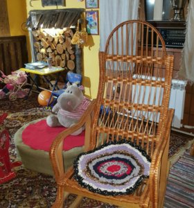 кресло плетение ручная работа