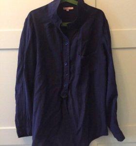Рубашка синяя, свитер белый, рубашка чёрная из США