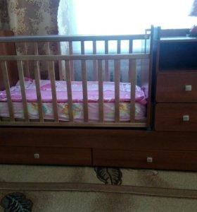 Кровать детская от 0 до 5