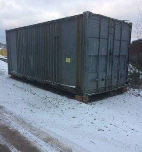 Морской контейнер 6 на 2,5 м