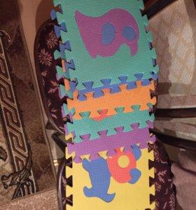 Детский коврик -пазл