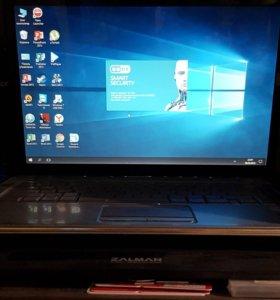 Ноутбук HP Pavilion dv5-1040er и подставка