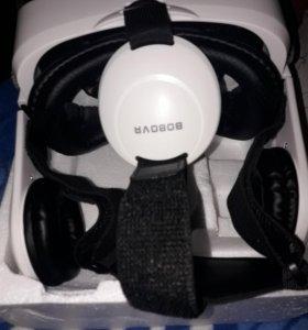 очки аиртуальной реальности,встроенными наушниками