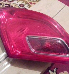 Фонарь задний Opel Astra J 13360786