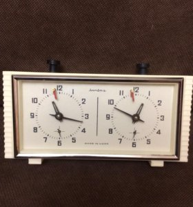 Шахматные часы «Янтарь» СССР