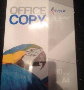 Бумага офисная