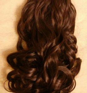 Волосы /локоны на заколках