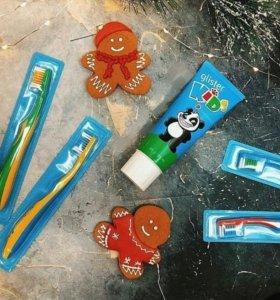 Детские зубные щетки Глистер