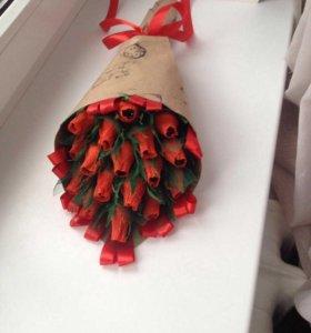 Букеты из конфет подарок любимой