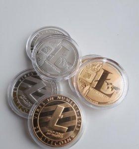 Лайткоин. Коллекционные монеты