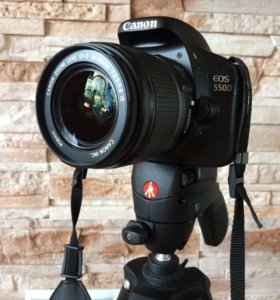 Canon EOS 550D made in Japan