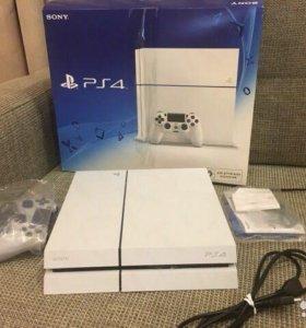 ЦЕНА СНИЖЕНА ДО 21.02.18. Sony Playstation 4 white