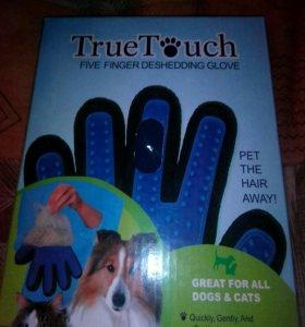Перчатка щетка для животных