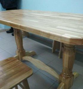 столы из массива